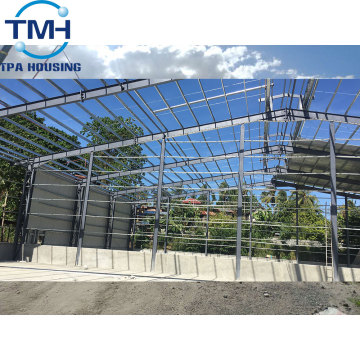 prefabricated steel structure workshop warehouse building