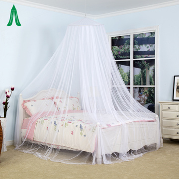 Elegant Round Lace Umbrella Curtain Bed Canopy