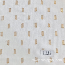 Dyed Polyester Metallic Fabric