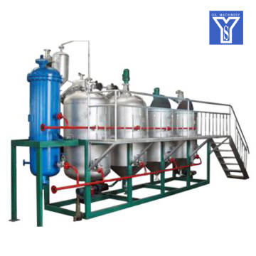edible crude oil refinery/refining/processing machine