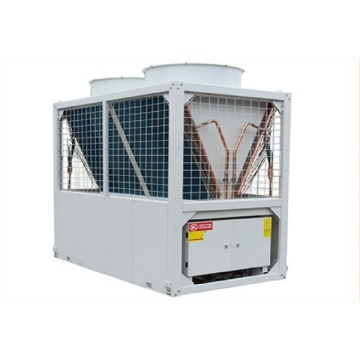 Modular air cooled heat pump unit