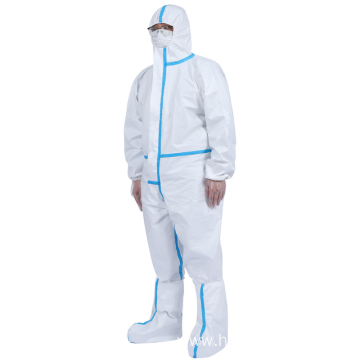 Disposable Medical Protective Coverall Clothing