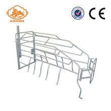 Automatic SST Galvanized Sow Farrowing Crate For Pigs