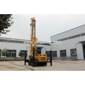 Deep 260m 300m Crawler Water Well Drilling Rig