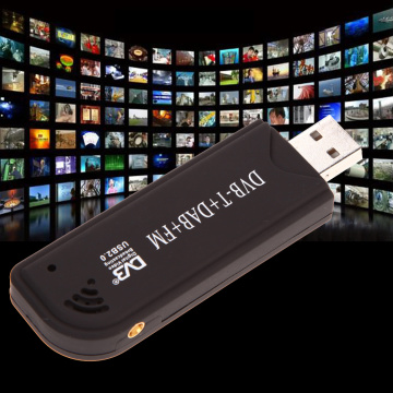 USB 2.0 Digital DVB-T SDR+DAB+FM TV Tuner Receiver Stick RTL2832U+ FC0012 Home audio and video equipment