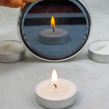 17g white tealight candle