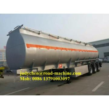 52000L Aluminum 3 Axle Fuel Tanker Semi Trailer