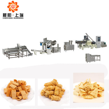 Corn tortillas extruder doritos snack extruder machine