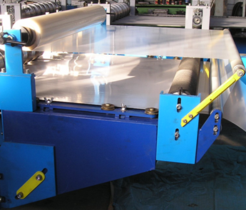 roller roofing making machine