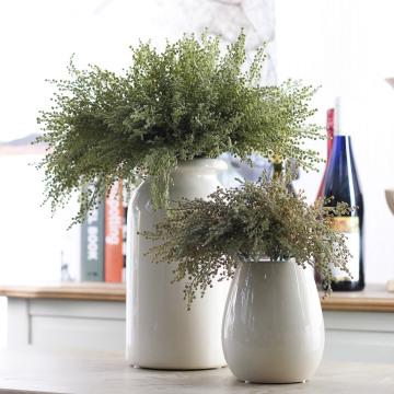 5PCS DIY Handmade Artificial Plastic Grass Wheat Plant Bouquet Home Hotel Party Decoration