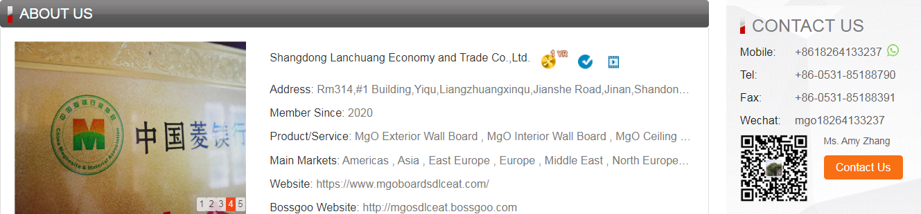 mgo boards suppliers