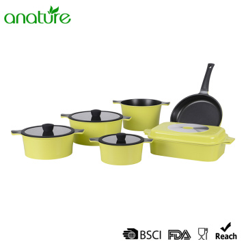 Hot Sale 11 Pieces Die Cast Cookware Sets