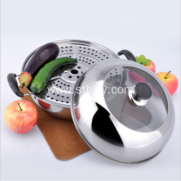 Stainless Steel Soup Steamer