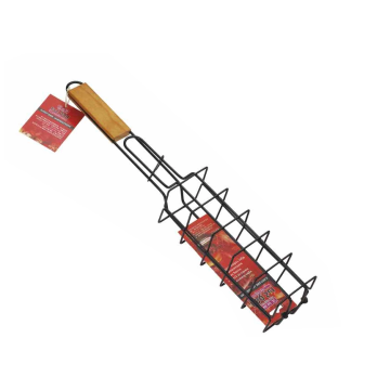 Non-stick Grill rack with wood handle