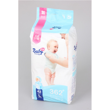 Disposable Baby Diapers With Super Absorbent Core