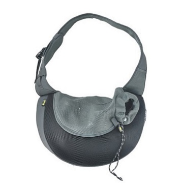 Black PVC and Mesh Pet Sling