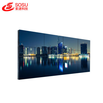 3.5mm bezel media player advertising tv wall