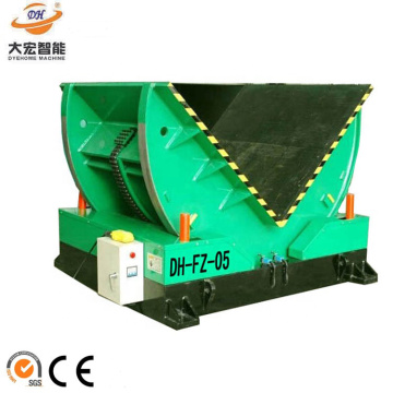 Automatic steel coil turn over machine