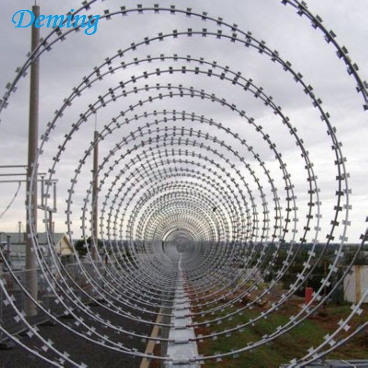 Cheap Price Stainless Steel Concertina Razor Barbed Wire