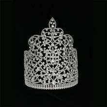 8 Inch Tiara Miss World Pageant Crown
