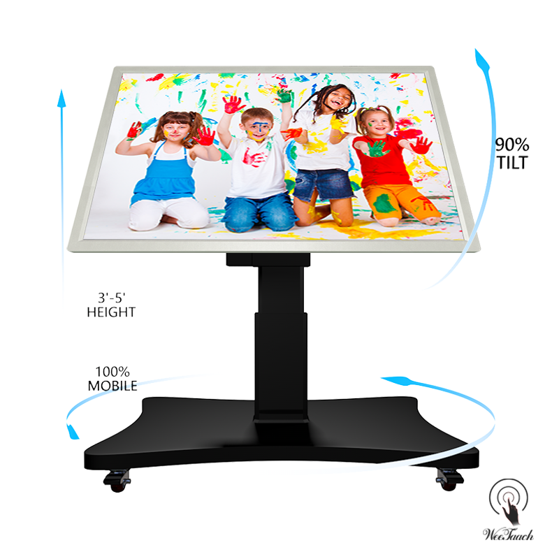 55 inches smart panel with Automatic stand