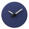 Blue Wall Clocks With Lighting hands