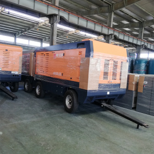 22m3/min 20bar diesel screw compressor for drilling machine