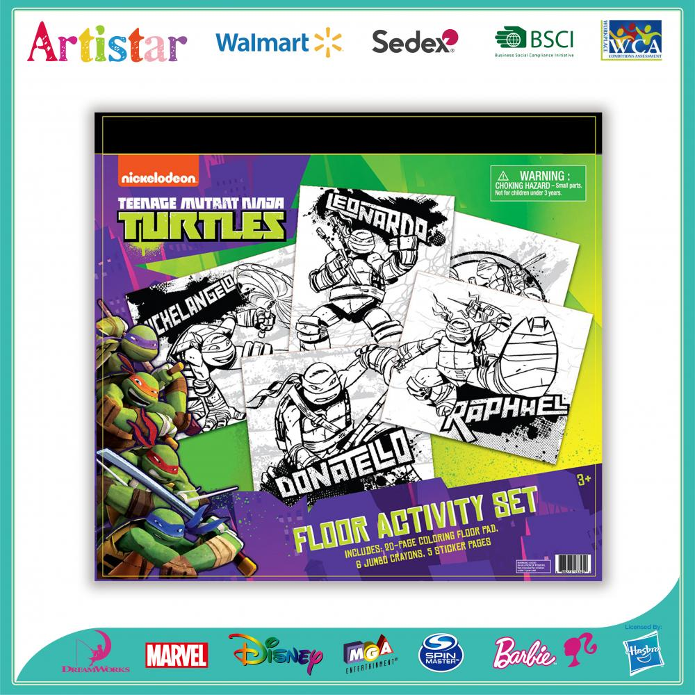 TURTLES activity coloring set