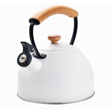 Simple Touch Whistle Spout kettle stainless steel