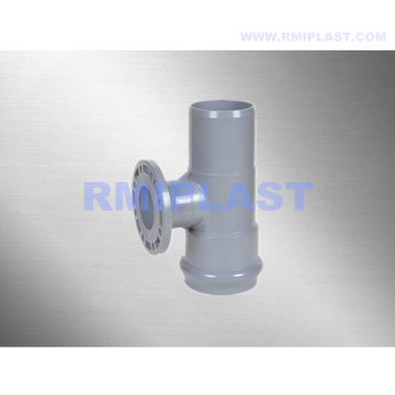 PVC Flanged Tee With Ring Spigot