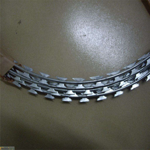 galvanized concertina razor barbed wire