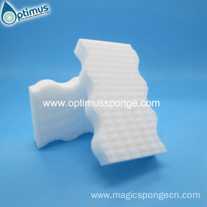 High density white magic sponge kitchen cleaning sponge