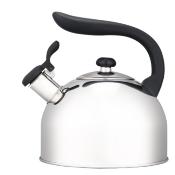 4.5L red whistling tea kettle