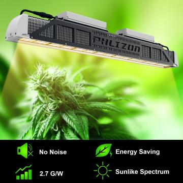 Tau o fale gaosi Greenhouse LED Plant Grow Lighting