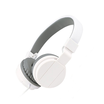 Wholesale White color good sounds headphon