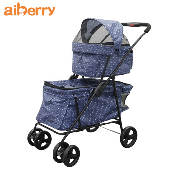 Hot Selling Pets Dogs Stroller Bag Carriage