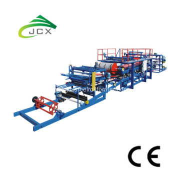 eps sandwich panels production press machine