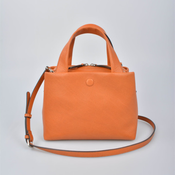 Minimalist Women leather Satchel bag shoulder bag