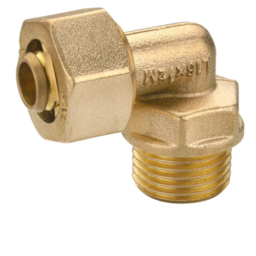 Brass Male Screw Leakproof Gas Ball Valve With Mouth