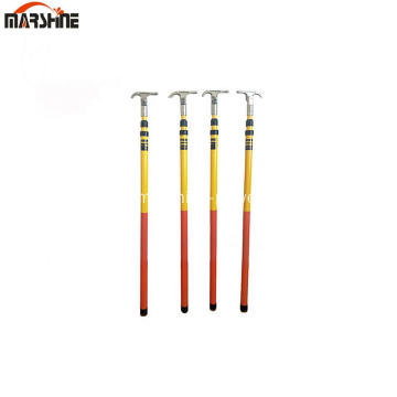 Telescopic Insulated Fiberglass Hot Stick