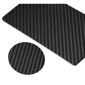 5 mm thickness molding 3k twill glossy carbon fiber plate for drone