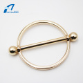 Circle Shape Decorative Hardware Metal Bag Accessory