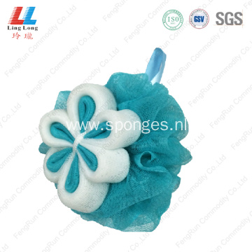 Mesh squishy soft bathroom sponge ball