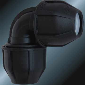 Black Color Pe Elbow 90° For Irrigation