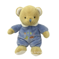 Plush Bear In Blue Cloth