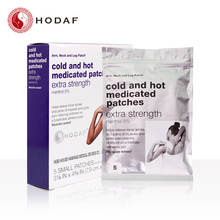 backache pain relief menthol cool and hot patch