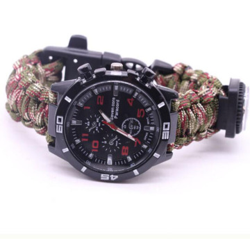 Whistle/Fire Starter/Compass Emergency Survival Paracord