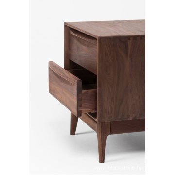 FAS Walnut Solid Wood Nightstands