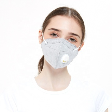 White List Certified Breathable KN95 Mask With Valve