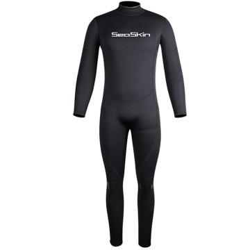 Seaskin Freediving Back Zipper One Piece Neoprene Wetsuits